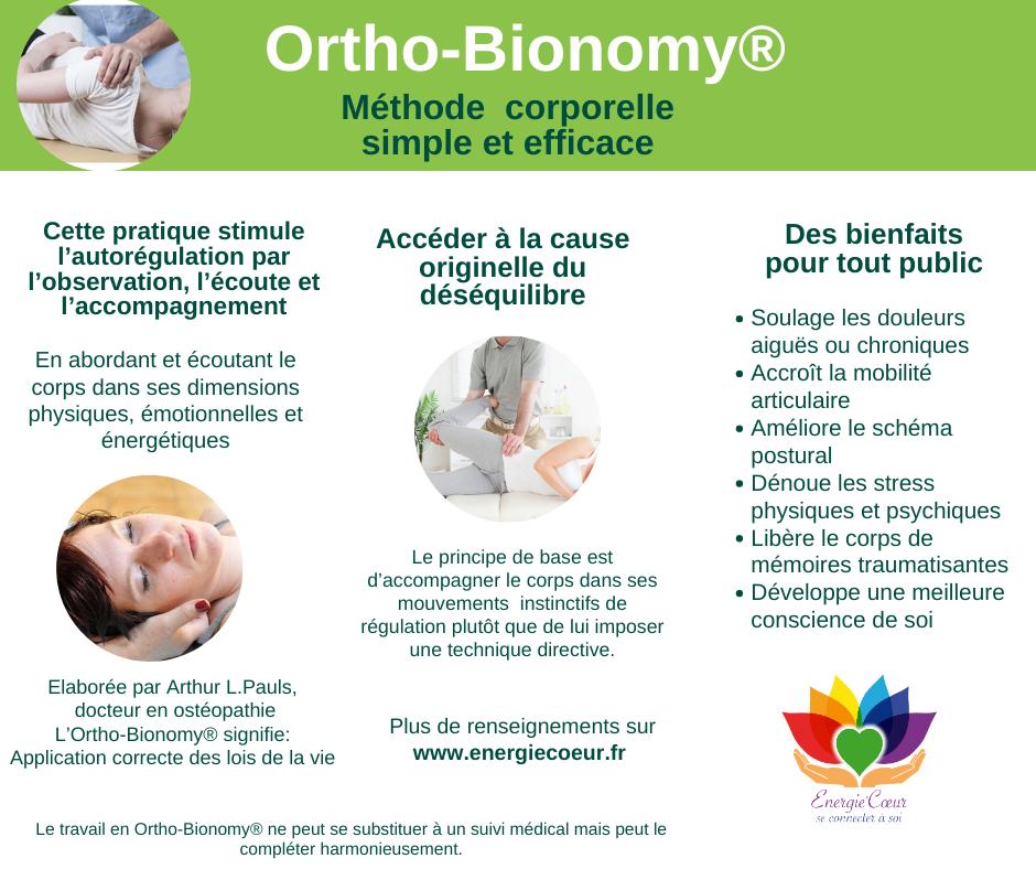 Ortho-bionomy thérapie corporelle douce